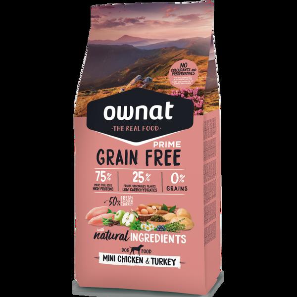 Bilde av Ownat grainfree mini adult kylling&kalkun 3kg